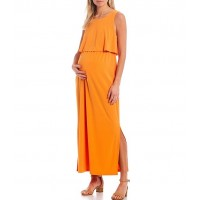 Alex Marie Gina Popover Sleeveless Maternity Ankle Length Dress fit types for Young Women Cheap M0VV87458