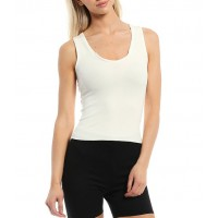 NIA Knit Scoop Neck Hero Tank Top big and tall for Female quality H9ORG2050