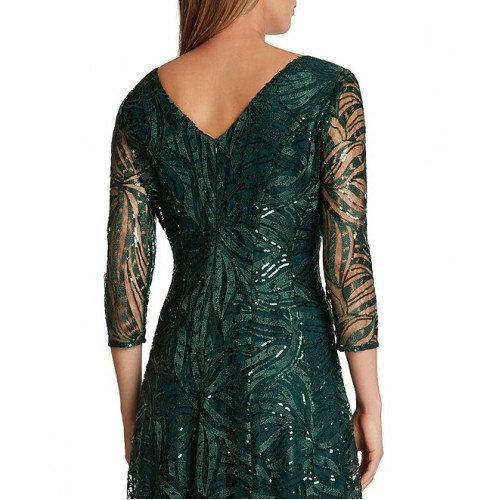 Tahari ASL Embroidered A Line Gown suits for Women on clearance Discount 0YTPR4168