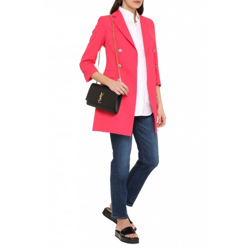 0205 Tagliatore Double breasted blazer suits Coral for Women Discount XYY2C2423