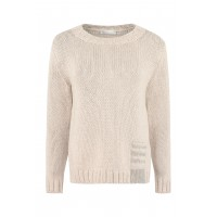 Fabiana Filippi Wool and silk blend sweater sizes Beige for Young Women Cheap HLRDG1417